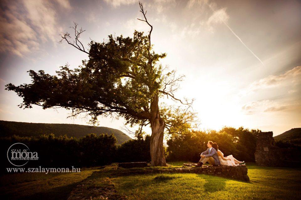 Szalay Mona esküvői kreatív fotózás