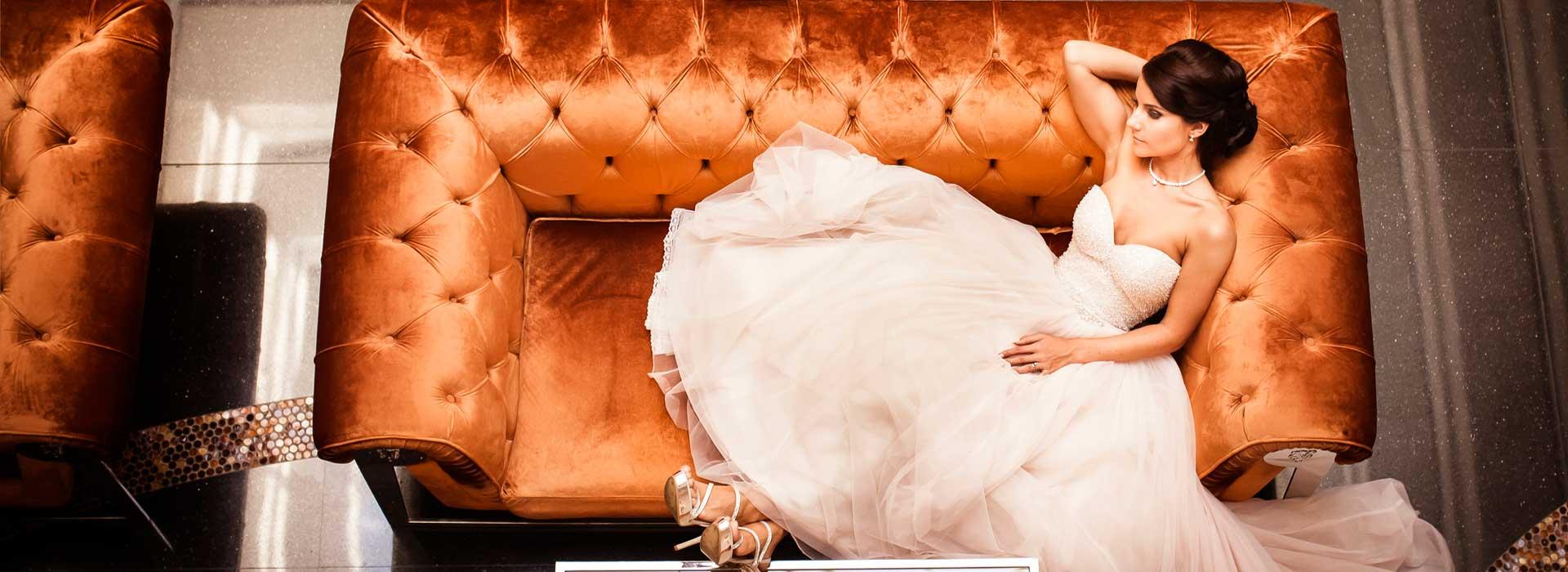 Elegáns esküvői fotók készítése